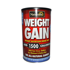 Naturade Weight Gain Vanilla 40 Oz