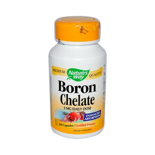 Nature's Way Boron Chelate (100 Capsules)