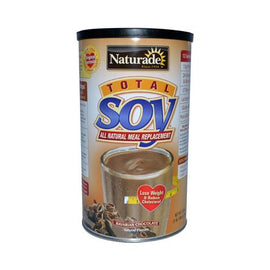 Naturade Total Soy Meal Replacement Bavarian Chocolate 18 Oz