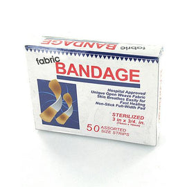 Flexible Fabric Bandages ( Case of 72 )