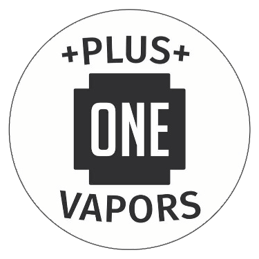 Plus One Vapors logo