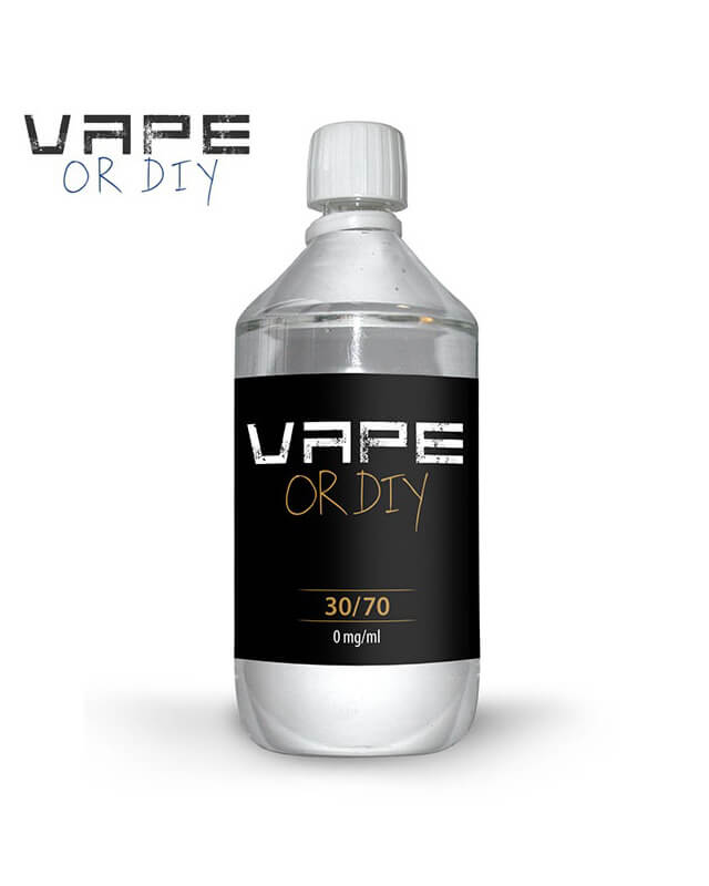 Baza Vape Or DIY 30%PG – 70%VG 1L