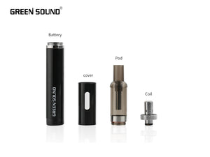 Kit Pod Q3 1.8ml Black