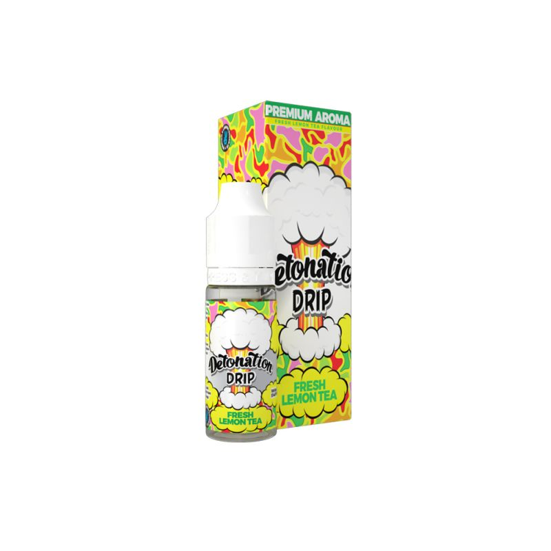 Aroma Detonation Drip Fresh Lemon TEA - 10ml