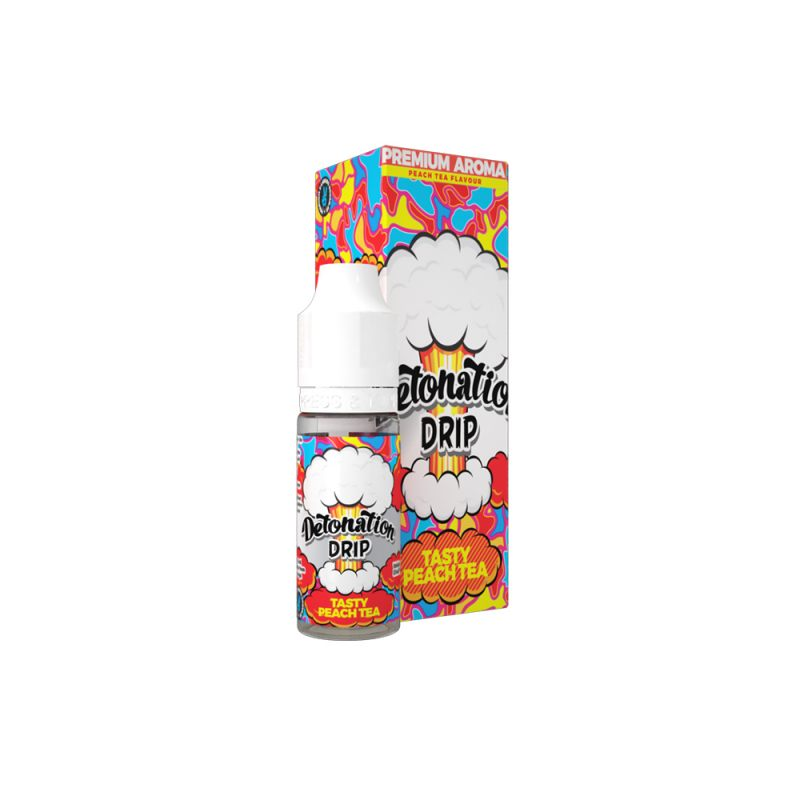 Aroma Detonation Drip Tasty Peach TEA - 10ml