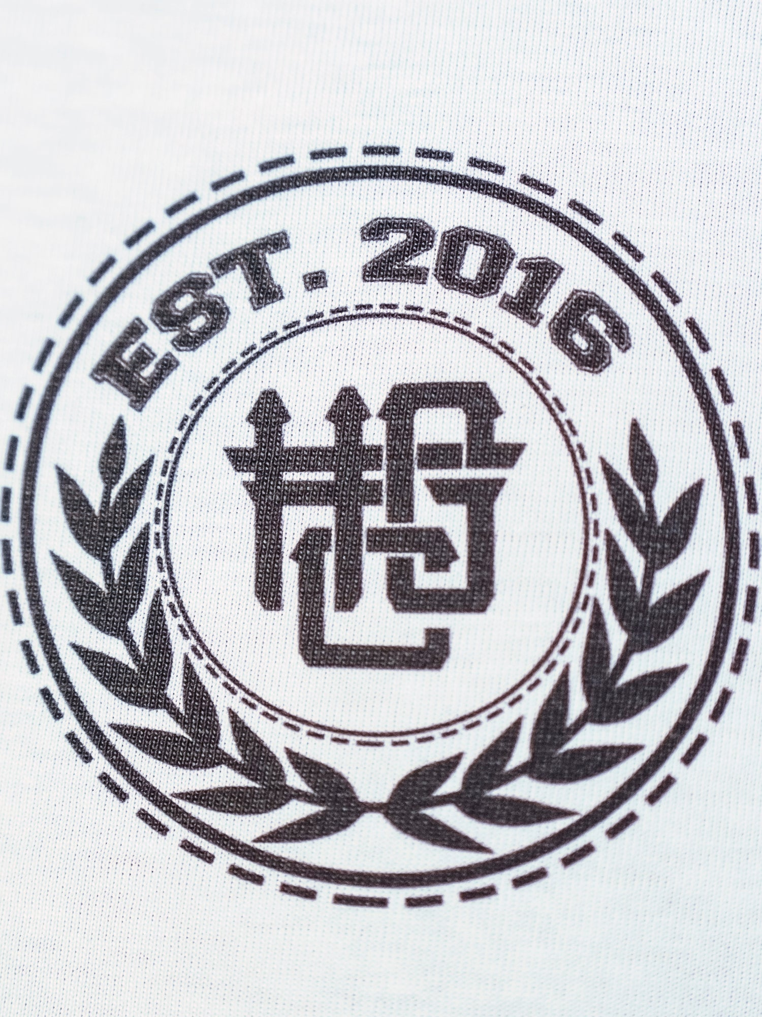 HGC Est. 2016 Tee - Black on White