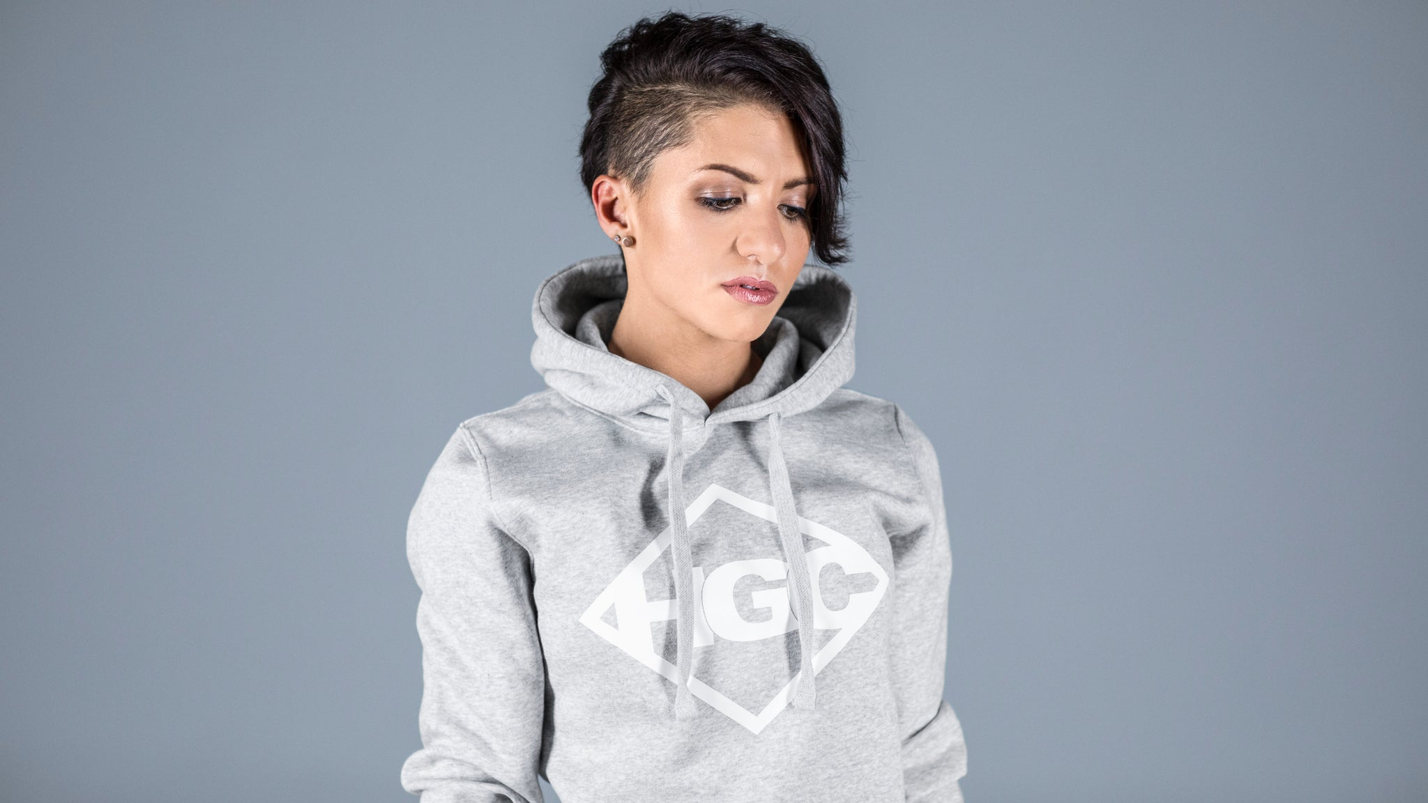 HGC Diamond Hoody - Heathergrey