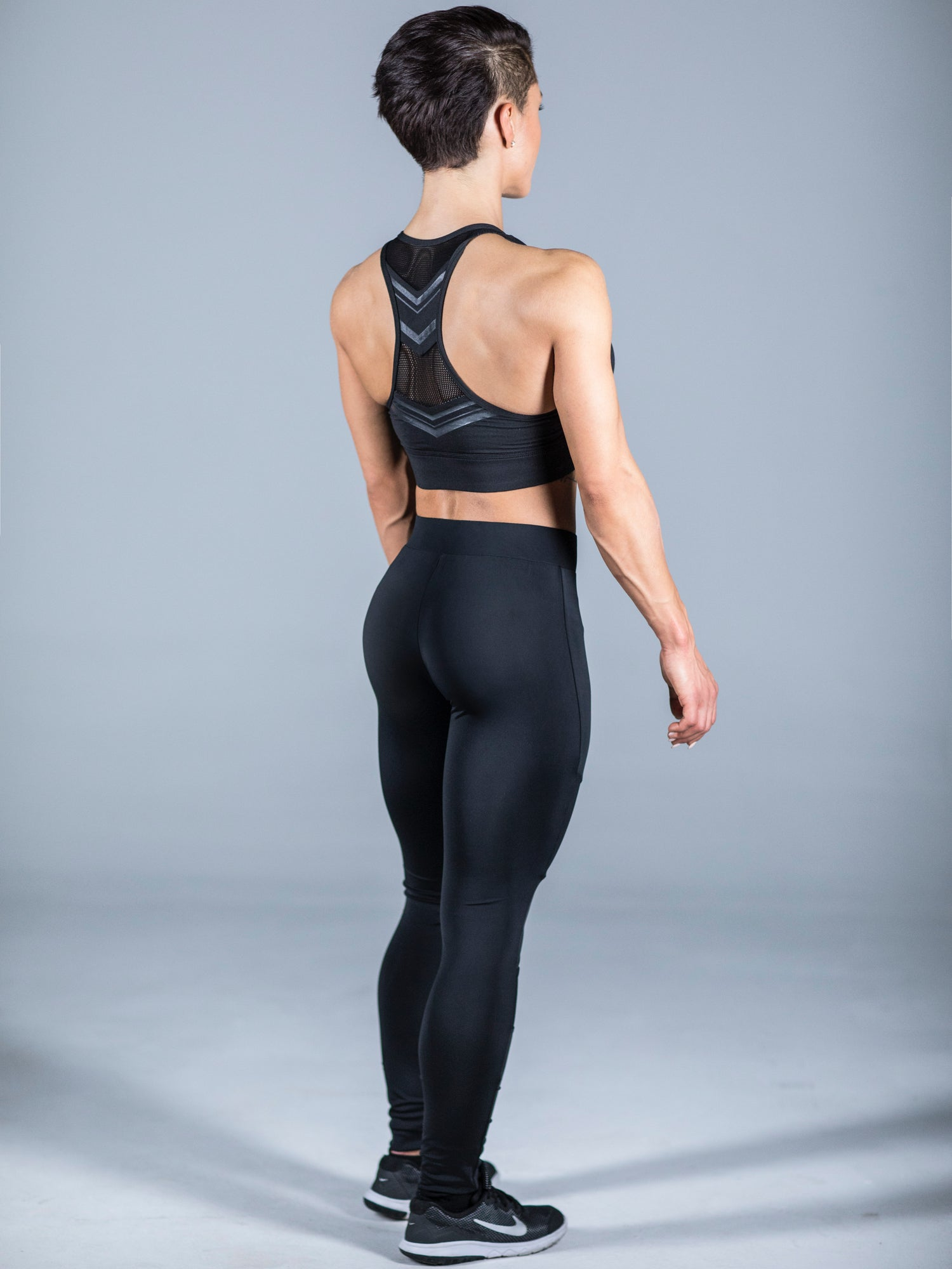 HGC Diamond Leggings - Black