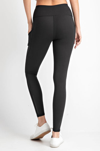 Butter Soft Legging with Ankle Reflector