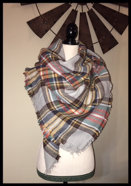 Adult Blanket Scarf (More Colors Available)