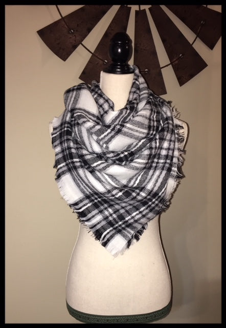Small Blanket Scarf (More Colors Available)