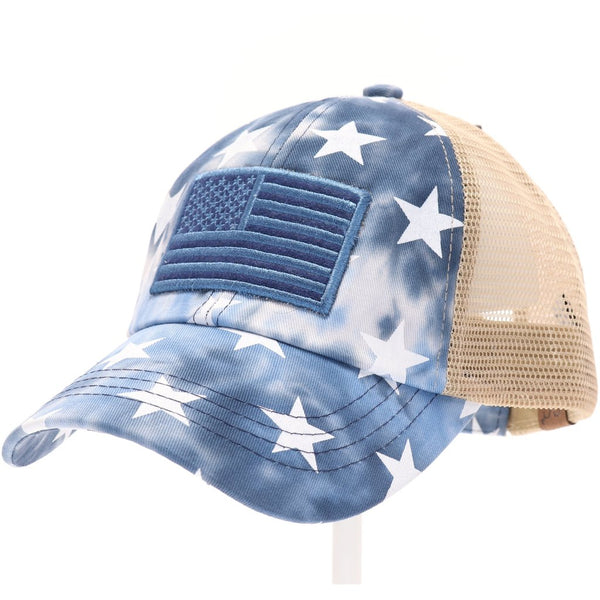 CC Tie-Dye Star Criss-Cross Hat