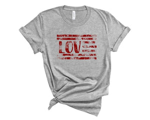 Love Flag T-shirt
