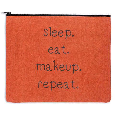 Sleep. Eat. Makeup. Repeat. Travel Bag