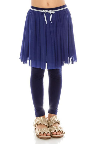 Kid Tulle Skirt with Legging (More Colors)