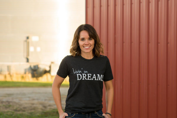 Adult Livin' on Dreams T-Shirt