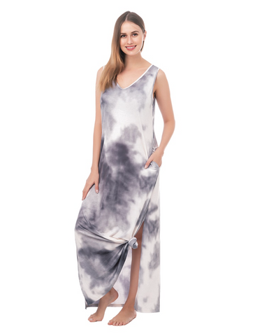 Tank Tie-Dye Maxi Dress (More Colors)