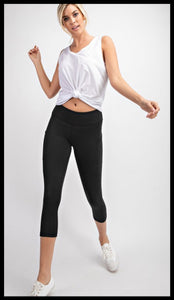 Capri Butter Soft Leggings