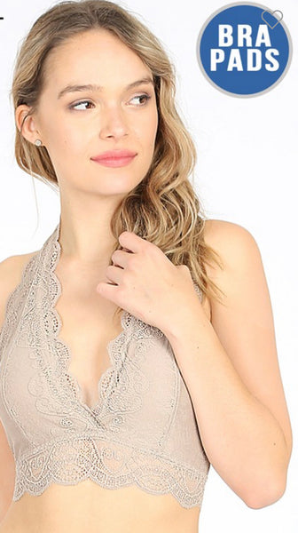 Halter Bralette (More Colors)