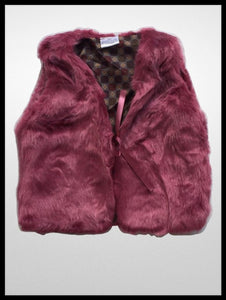 Kid Faux Fur Vest