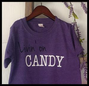 Kid Livin' on Candy T-shirt