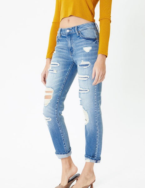 Kan Can Work Patch Jean