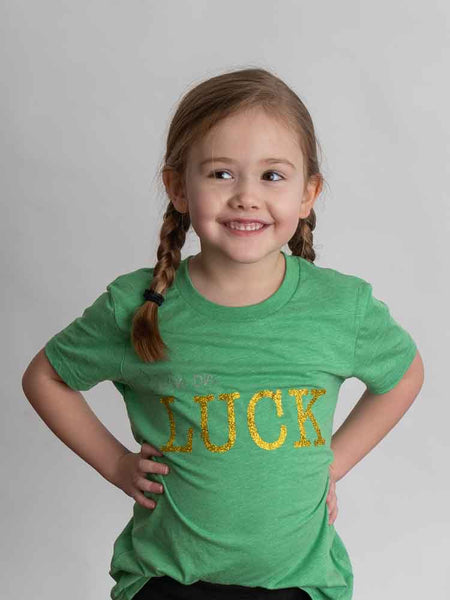 Kid Livin' on LUCK T-shirt