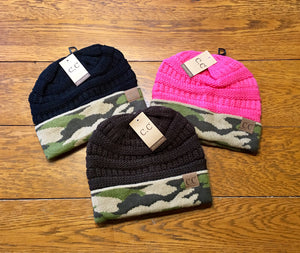 CC Camouflage Beanie- Adult