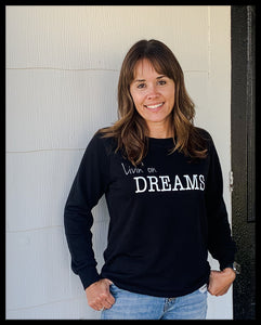 Women's Lazy Day Livin' on Dreams Sweatshirt