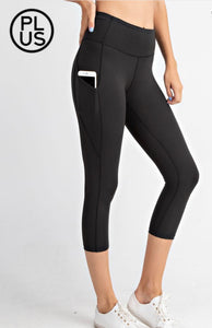 Curvy Capri Butter Soft Legging