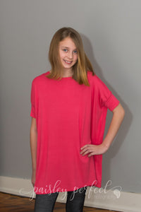 Tween Kid Coral Top