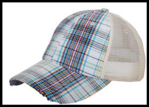 Plaid Hat (More Colors Available)