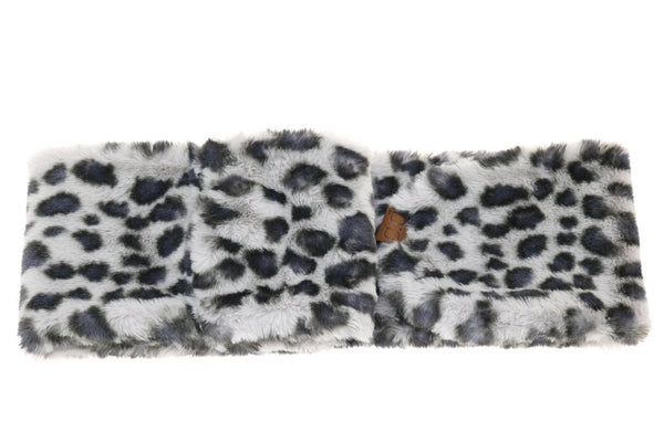 CC Leopard Faux Fur Scarf (More Colors)