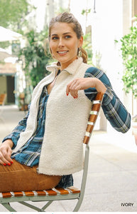 Boucle Knit Vest (More Colors)
