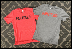 Adult Panthers T-shirts