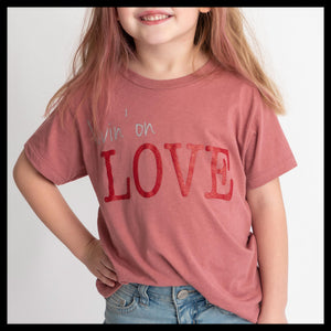 Kid Livin' on LOVE T-shirt
