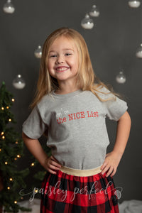 Kid Livin' on the NICE List T-Shirt