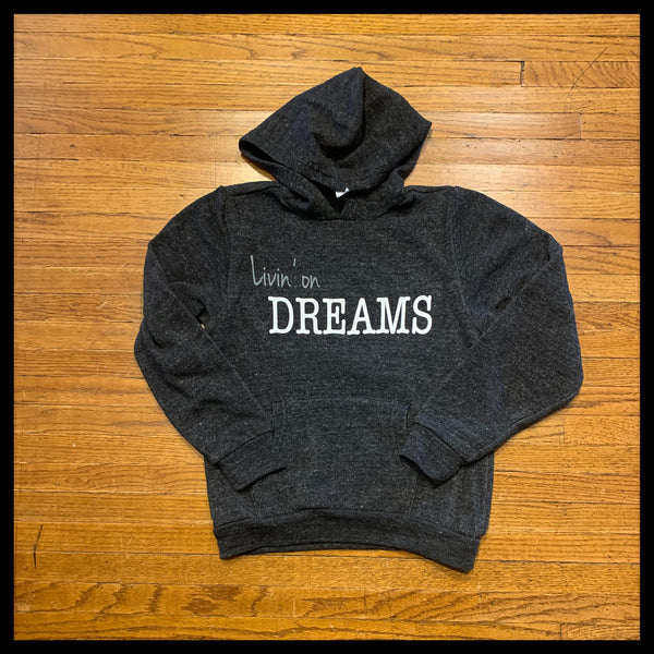 Kid Eco-Fleece Livin' on Dreams Hoodie
