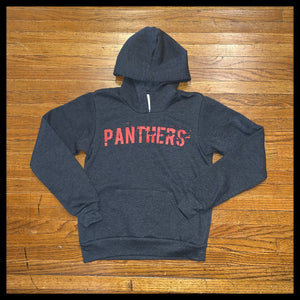 Kid Charcoal Panthers Hoodie