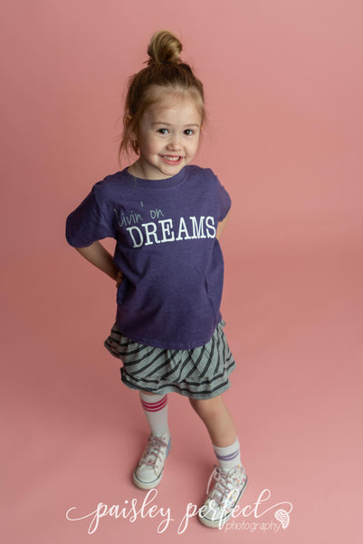 Kid Livin' on Dreams T-Shirt