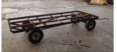 The very beginning: One old trailer about to be upcycled