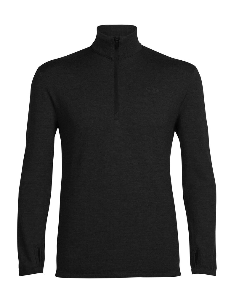 Icebreaker - Men's Merino Original Long Sleeve Half Zip Top - Jumpers & Hoodies