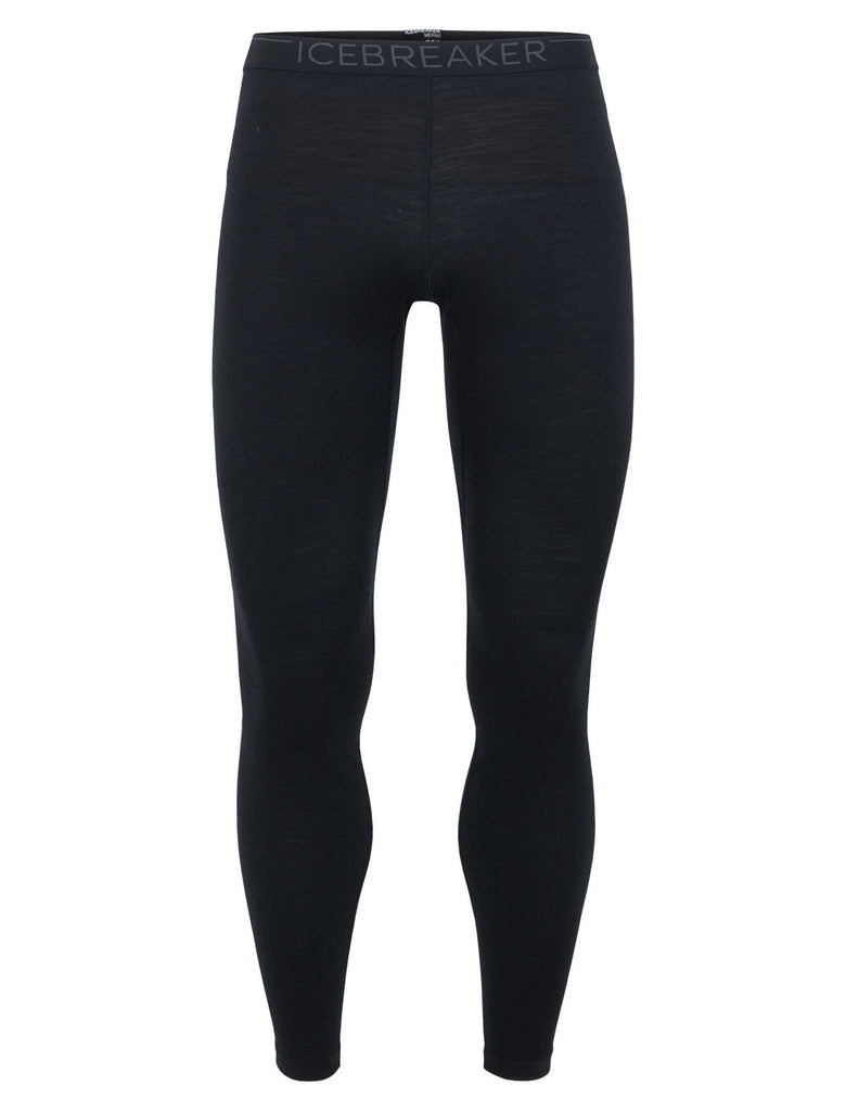 Icebreaker Mens Oasis 200 Merino Thermal Leggings - Thermal Underwear and base layers - Black