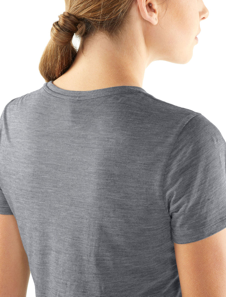 Icebreaker - Womens Sphere Cool lite SS Low Crewe - Merino Base Layer