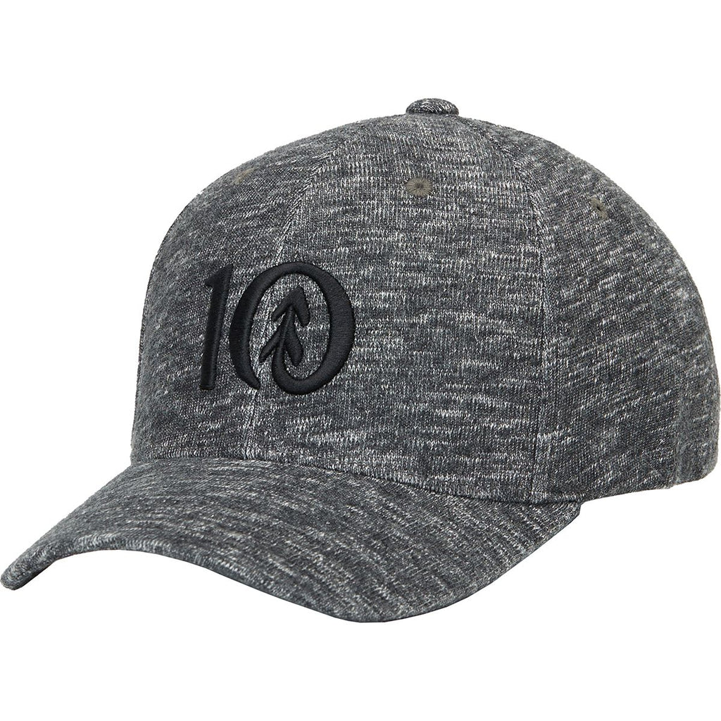 Tentree - 6 Panel Meteorite Black Thicket Hat - Cap
