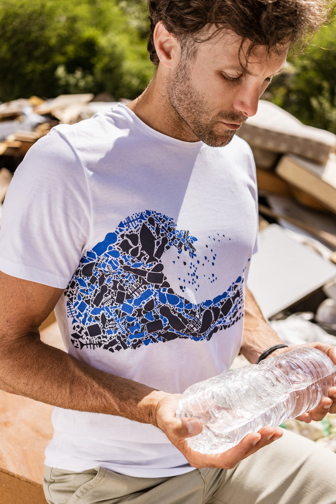 Mens Plastic Wave T-Shirt