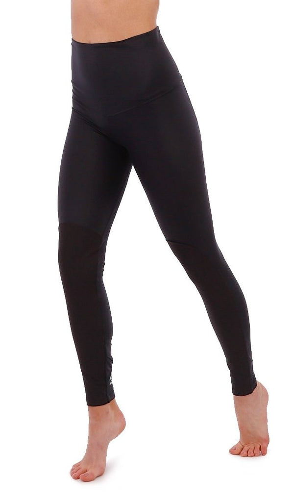High Waisted Leggings - Women's Climbing Leggings - Black Leggings