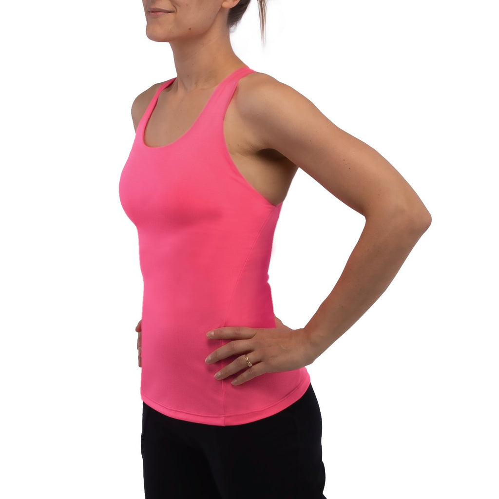 3rd Rock Clothing - Eclipse Organic Vest with Inbuilt Bra