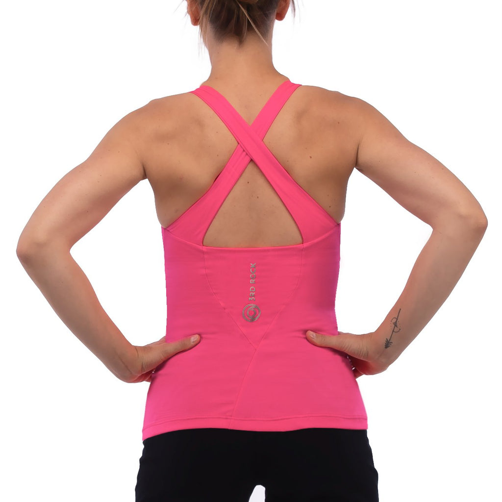 3rd Rock - Eclipse Organic Vest with Inbuilt Bra