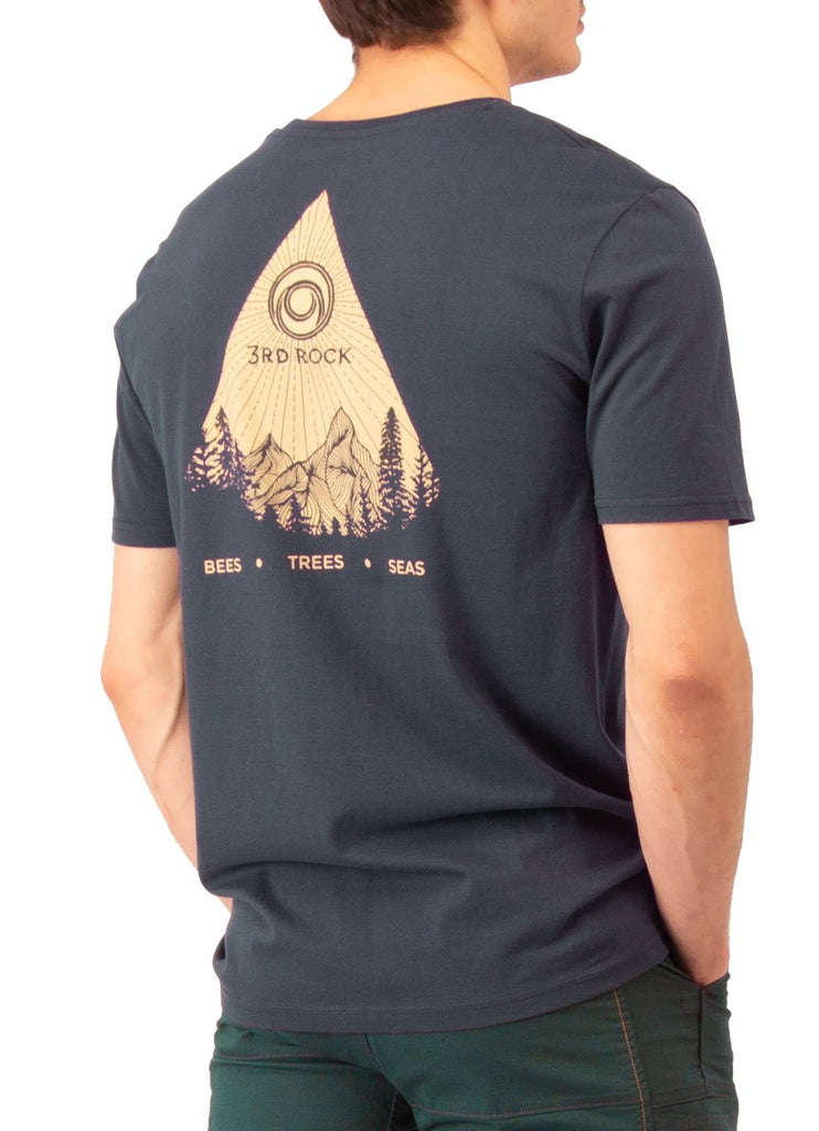 3rd Rock Clothing - Men's Sun T-Shirt - Climbing Tops